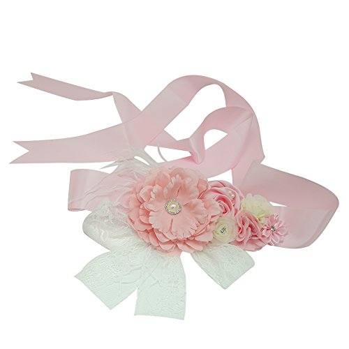 best accessories for pink dress - 9
