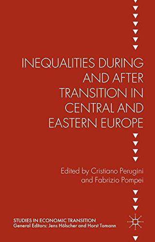 Price comparison product image Inequalities During and After Transition in Central and Eastern Europe (Studies in Economic Transition)