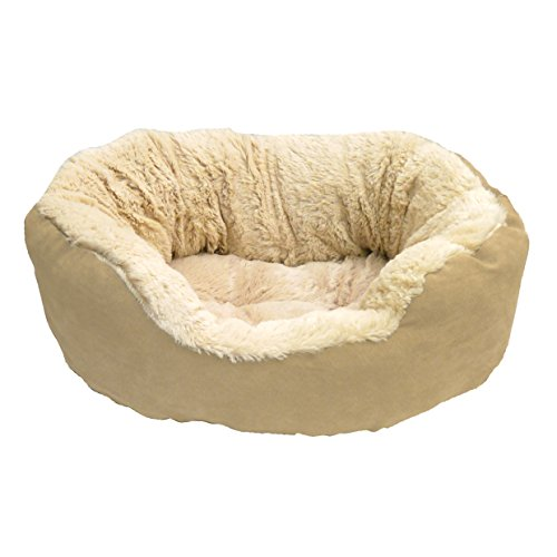 Rosewood Tan Plush Dog Bed Review