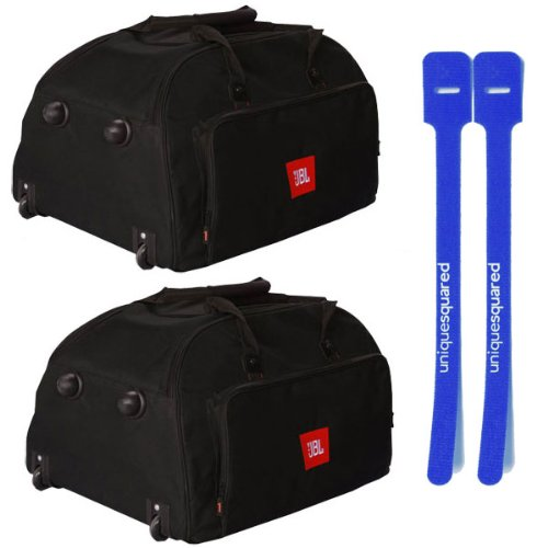 JBL EON15-BAG/W-DLX Pair Roller Bag for EON 515, 515XT, 315 and 305 Speakers w/ Cable Ties