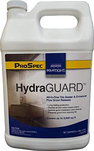AquaTight HydraGUARD high-Performance Sealer for Tile, Cement, Grout, and Concrete Surfaces (32 oz Quart Bottle)