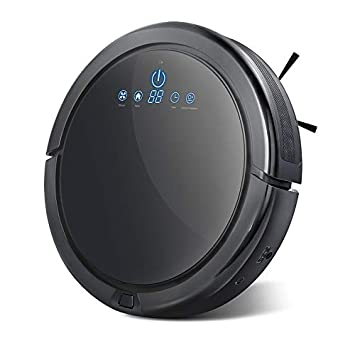 Langbo Robot Vacuum Cleaner, Powerful Suction Self-Charging Ultra Quiet, Automatic Vacuum Cleaner Robot for Pet Hair, Dust, Carpet, Hardwood Floor, Tiled Floor