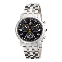 Tissot Men's PRC 200 Chronograph Watch Black T17.1.586.52