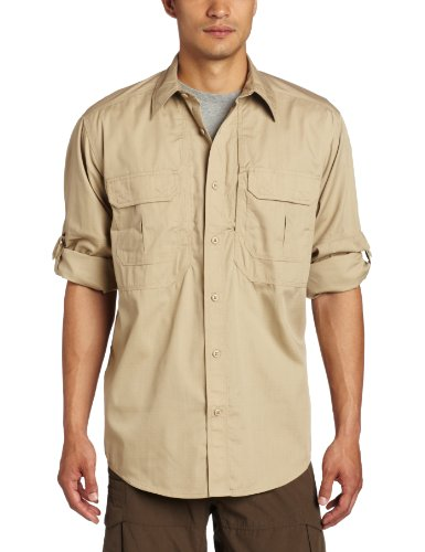5.11 Tactical TacLite Professional Long Sleeve Shirt, TDU Khaki, Large by 5.11
