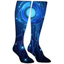 NiceCT Starry Comfortable 3D Print Stockings For Man And Women