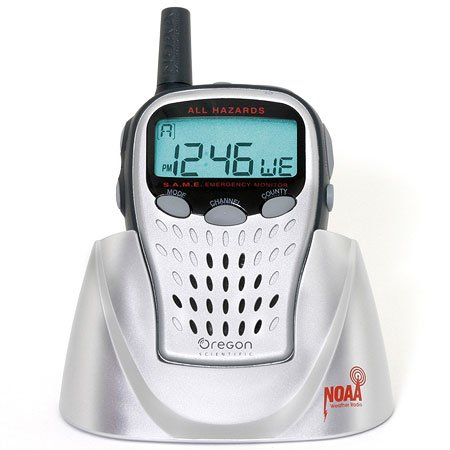 Oregon Scientific WR601 Portable Weather Radio