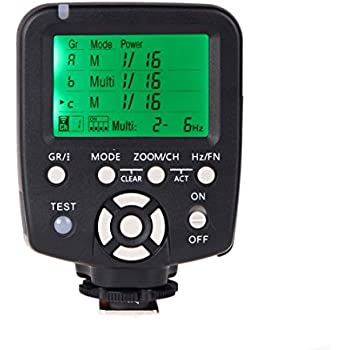 Kingzer YN560-TX Wireless Flash Controller and Commander for YN-560III YN-560TX YN560TX Speedlite Canon DSLR Cameras