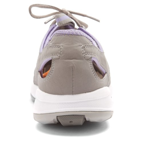 Propet Womens Adventure Shoe Ciottolo Grigio / Lilla