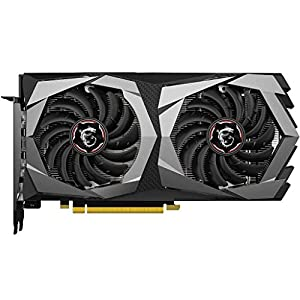 MSI Gaming Geforce GTX 1650 Super 128-Bit HDMI/DP 4GB GDRR6 HDCP Support DirectX 12 Dual Fan VR Ready OC Graphics Card