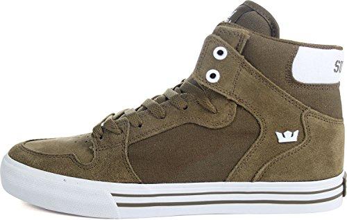 Blanc Herren Supra Sneaker Vaider Olive 4ZvqPa