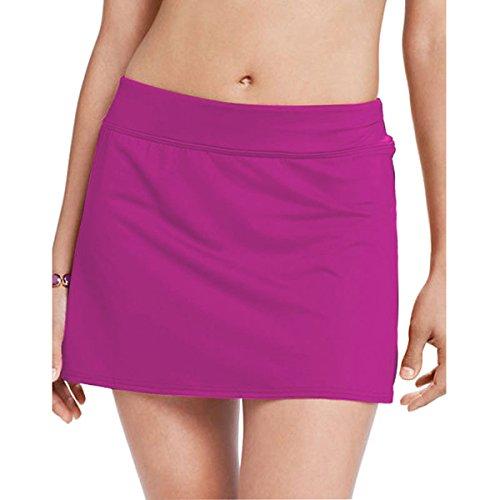 Bikini Swim falda de WinCret Mujeres para la playa, playa, piscina, fiestas Rosa roja
