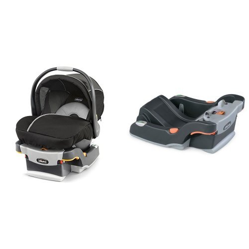 Chicco Keyfit 30 Magic Infant Car Seat, Black/Grey & Chic...