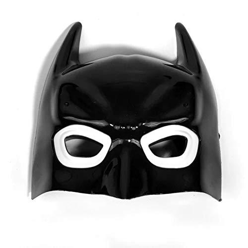 TT Manufacturer 1Pcs Batman Mask Anonymous Guy Halloween Mask Masquerade Upper Half Face Mask Adult Party Masks Mascara de Halloween -