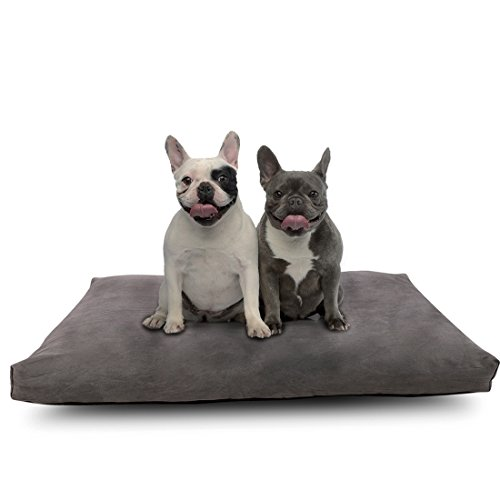 Comfort & Relax Shredded Memory Foam Waterproof Pet Bed for Large Dogs
