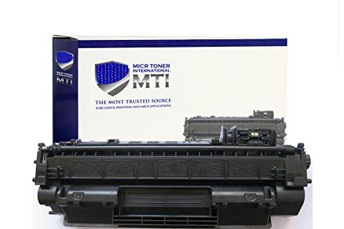 MICR Toner International HP CE505A (HP 05A) Check Printing Magnetic Toner Cartridge for HP Printers P2035 - P2035DN - P2035N - P2055 - P2055D - P2055DN - P2055X