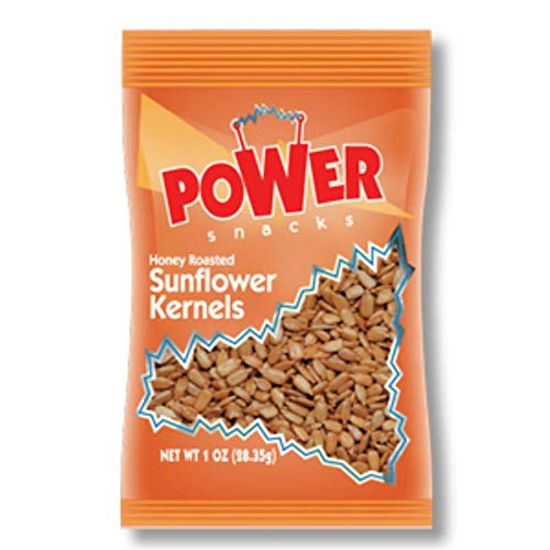 Power Snacks Salted and Honey Roasted Sunflower Seeds, 1 oz., 150 per case ()