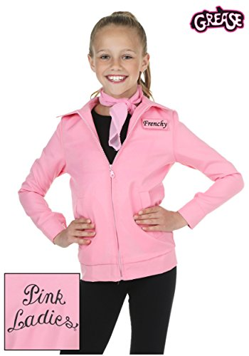 Bayi Co. Authentic Pink Ladies Jacket X-large (Frenchy From Grease Costumes)