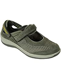 Sanibel Proven Pain Relief Comfortable Orthopedic Diabetic Womens Mary Jane Shoes for Flat Feet