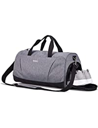 Sports Gym Bag with Shoes Compartment for Men and Women bc0c981d78c14