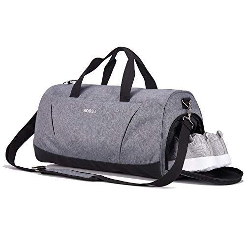 Sports Gym Bag with Shoes Compartment Multi-use Travel Duffel Bag for Men and Women