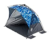 E-Z UP WT8CB Wedge Portable Beach Tent 4 Person UV with Carry Bag,...