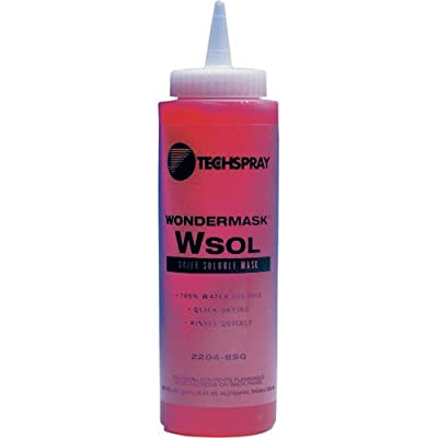 Techspray 2204-8SQ Wondermask Wsol, Solder Mask, Water Soluble -2 pack