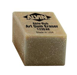 Alvin 1220AE Box Art Erasers