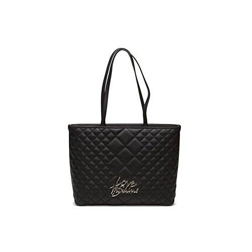 Love Moschino Quilted Borsa a mano nero