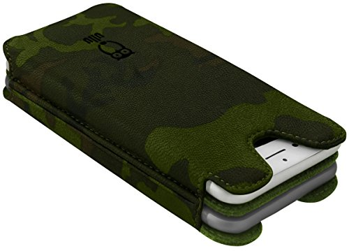 ullu Sleeve for iPhone 8 Plus/ 7 Plus - Army Woodland Green UDUO7PPL77 by ullu (Image #2)