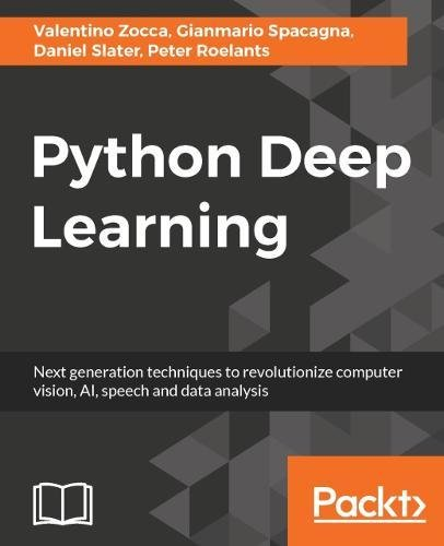 Book cover of Python Deep Learning by Valentino Zocca