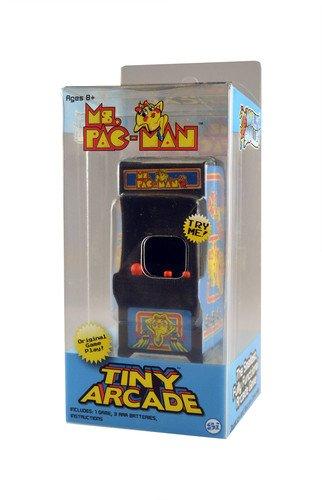Tiny Arcade Ms. Pac-Man Miniature Arcade Game