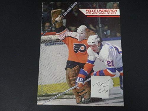 Pelle Lindbergh Signed Cut Autograph Auto AF01851 - PSA/DNA Certified - NHL Cut Signatures ()