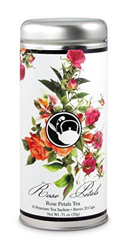 Rose Petals Tea: All-Natural, Ceylon Black Tea, 24 servings