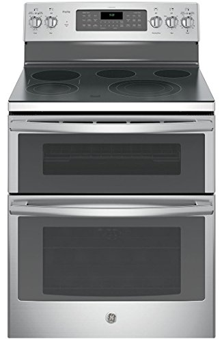 GE PB980SJSS Electric Smoothtop Double Oven Range ()
