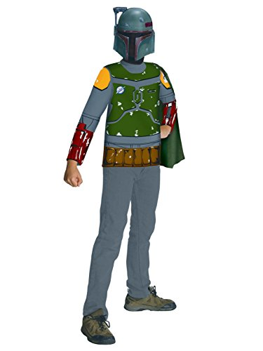 Rubie's Star Wars Child's Boba Fett Value Costume Top, Medium]()