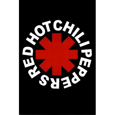 (Poster Revolution (24x36) Red Hot Chili Peppers (Logo) Music Poster Print)