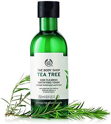 ذي بودي شوب زيت شجرة الشاي ملطف للوجه 250 مل Amazon Ae