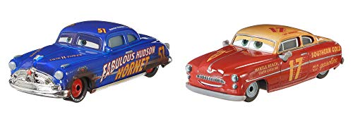 Disney/Pixar Cars Dirt Track Hudson Hornet and Jet Robinson