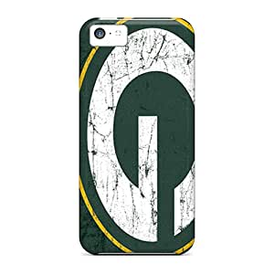 High Grade LKIDD Flexible Tpu Case For Iphone 5c - Green Bay Packers