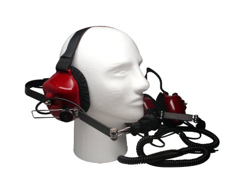 Race Day Electronics Fan Intercom System Two Way Headsets, Red by Race Day Electronics (Image #1)