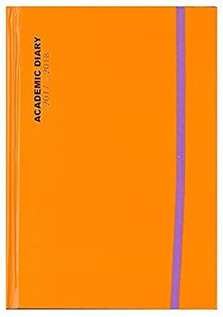 Amazon.com : Tallon Day Per Page Orange With Purple Band ...