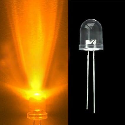 500PCS Diffused LED 3MM ORANGE COLOR ORANGE LIGHT Super Bright
