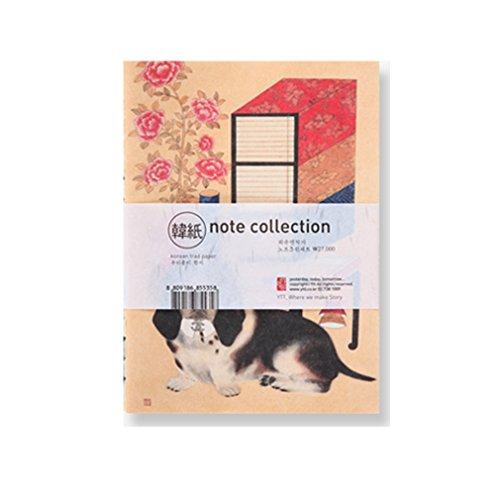 ytt-hanji-korean-traditional-blank-notebook-3-types-dog-sykwak