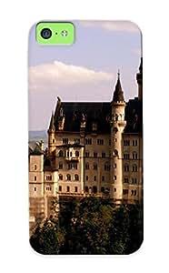 NRtTyHk3636noRsE Cover Case - Neuschwanstein Castle Protective Case Compatibel With Iphone 5c