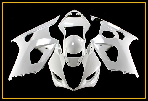 Protek Unpainted ABS Plastic Injection Mold Full Fairings Set Bodywork Cowl for 2003 2004 Suzuki GSXR1000 GSXR 1000 K3