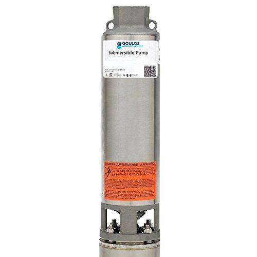 "Goulds Pumps 10GS15422C 2 Wire 1 1/2 HP 230V 4"" Submersib..."