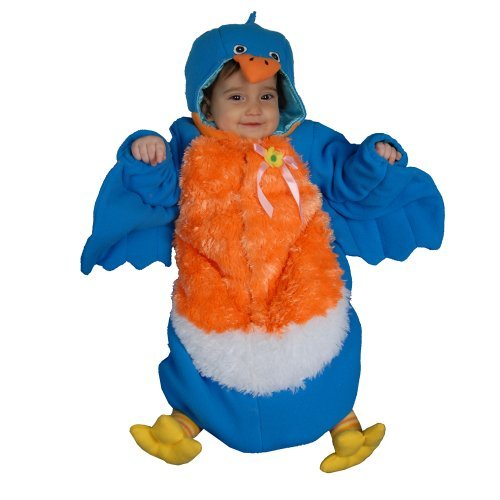 Dress up America Infant Bluebird Costume Set for (0-12 Months) by Dress Up America