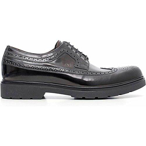 Zapato hombre elegante negro a604494u-100–Negro Jardines