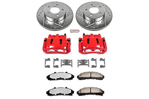 Power Stop KC1860-36 Front Z36 Truck and Tow Brake Kit with (Ford Ranger Brake Caliper)