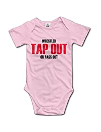 Short Sleeve Bodysuit Tap Out Or Pass Out Toddler Child